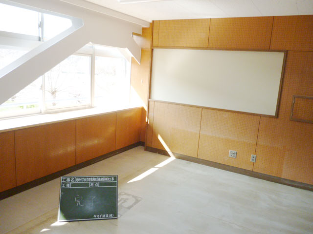周南中学校管理普通教室棟耐震補強工事
