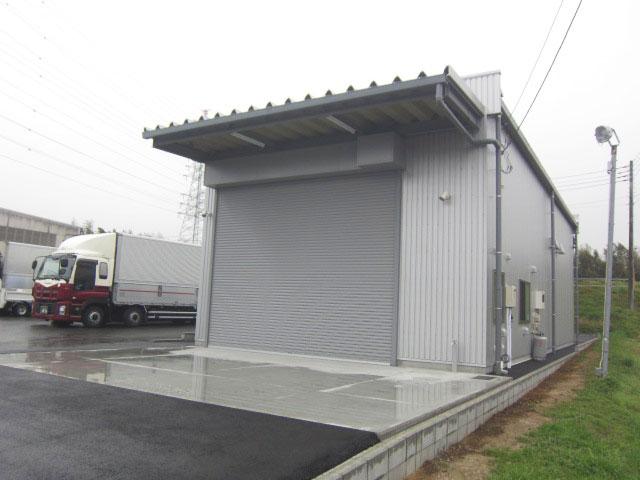 A自動車整備工場