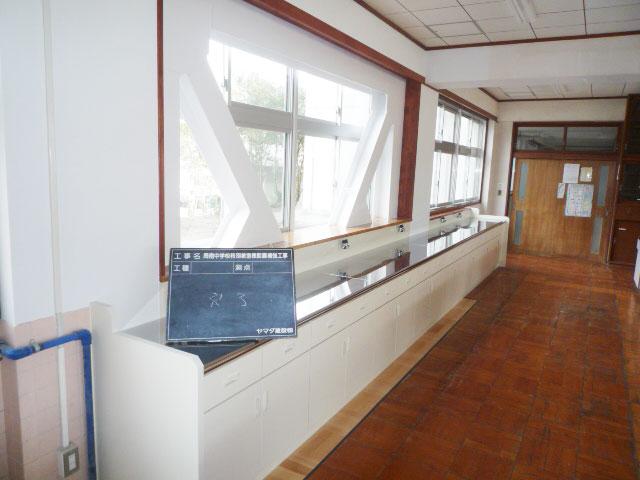 周南中学校特別教室棟耐震補強工事