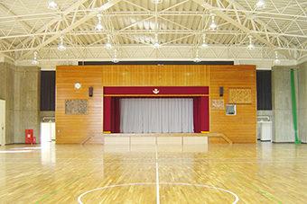 南子安小学校屋内運動場大規模改造工事