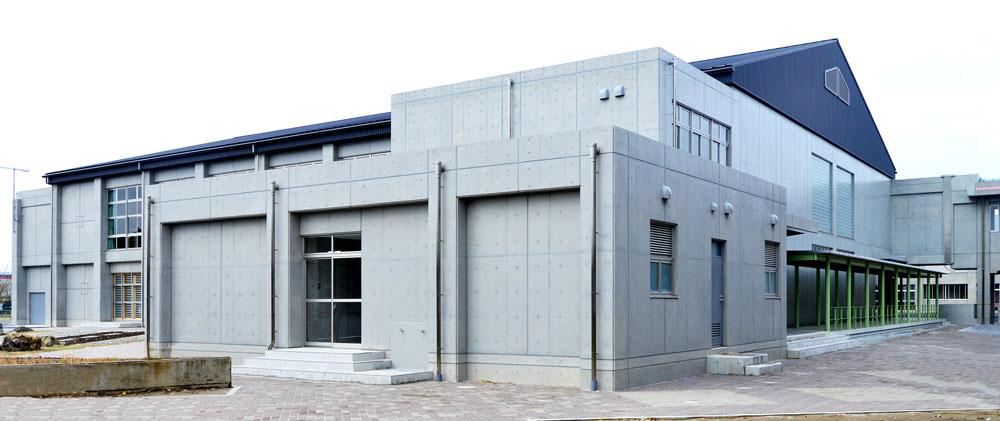 君津中学校屋内運動場